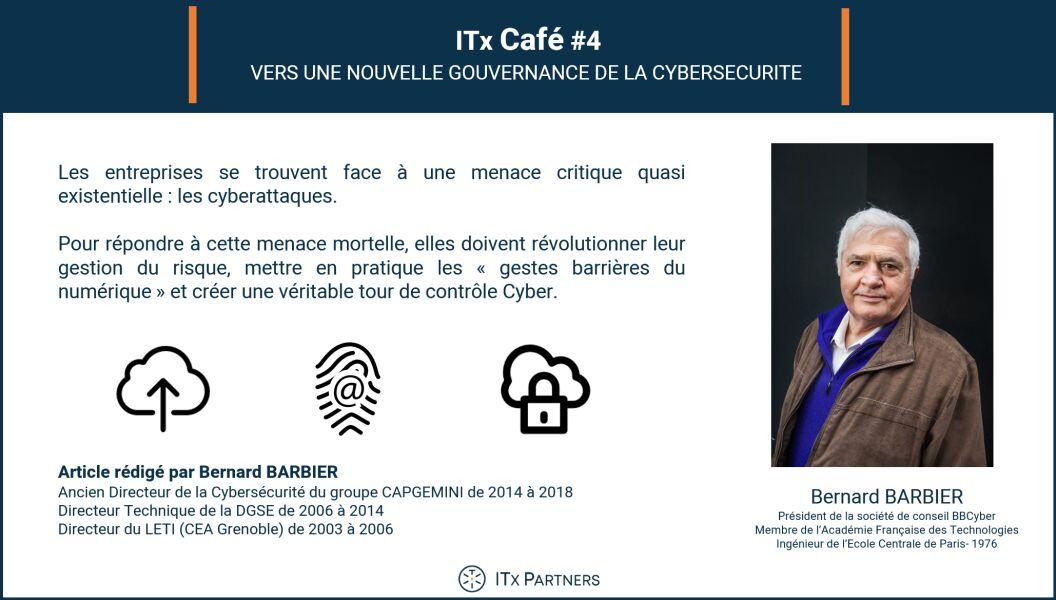 ITx Café #4 – Vers une nouvelle gouvernance de la cybersécurité ? Pour une approche systémique du risque numérique