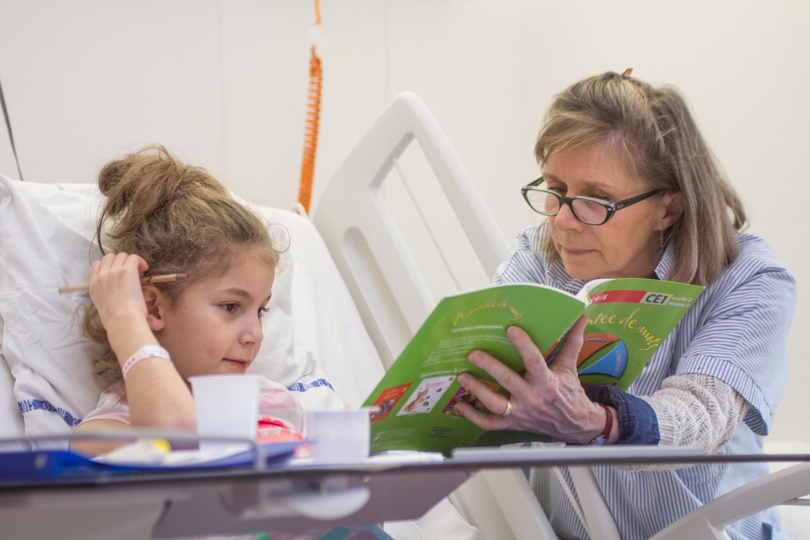 Mécénat : L'Ecole à l'Hopital
